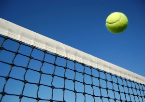 Tennis-Ball-Over-Net